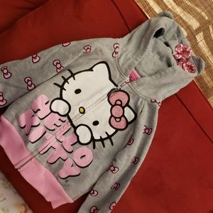 Hello Kitty Sweat Shirt with Ears and Bow on Hood